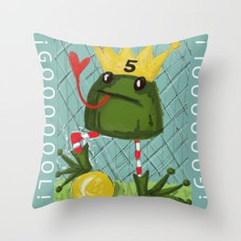 Goal! Throw Pillow