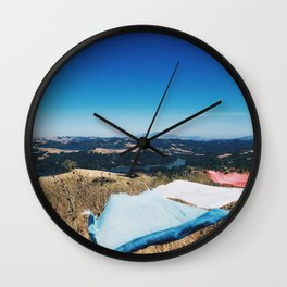On top of a Mountain Wall Clock