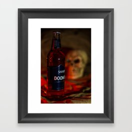 Doomed Framed Art Print