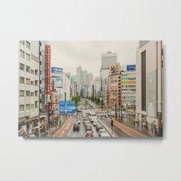 TOKIO III Metal Print