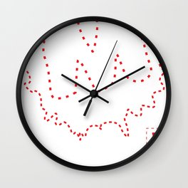 Moulded Sew Kit Wall Clock