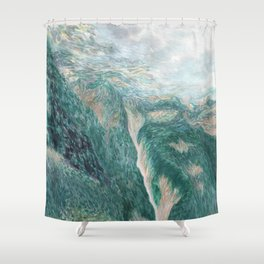 above val canzoi Shower Curtain