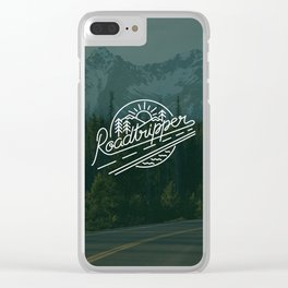 Roadtripper Ride Clear iPhone Case