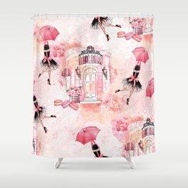 Flying fashion Shower Curtain