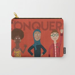 she conquers. Carry-All Pouch