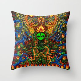 How Do You Like It Here? Throw Pillow