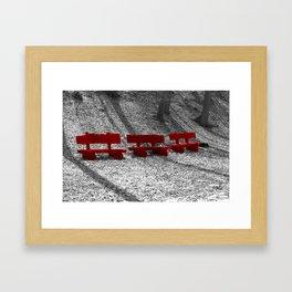 Choose the right One  Framed Art Print