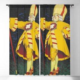 Rhum Charleston Bordeaux - Jean d' Ylen 1925 Blackout Curtain