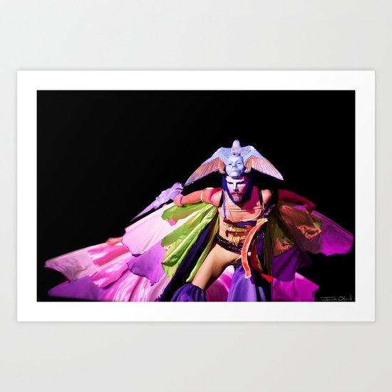 Birdman - Tucson All Souls Procession Art Print
