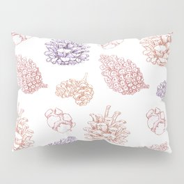 winter cone pattern II Pillow Sham