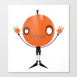 Pumpkin Head Canvas Print