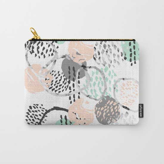 Brice - abstract minimal modern painting home decor minimalist art Carry-All Pouch