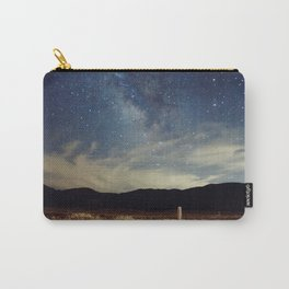 Night sky over Prairie Carry-All Pouch