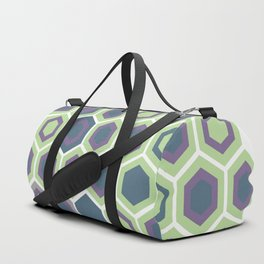Honycomb Art Deco Duffle Bag