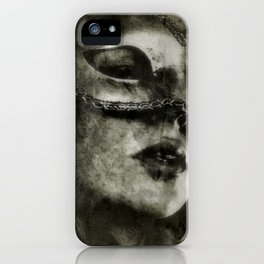 Secret Lips - Gerald Robin © iPhone Case