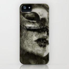 Secret Lips - Gerald Robin © iPhone Case