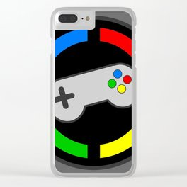 Video Gamer 4 Life Clear iPhone Case