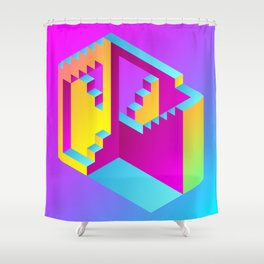 Impossibility Shower Curtain