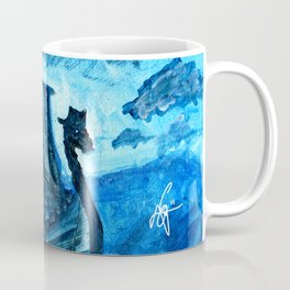 Viking's Journey by Erik Sciarra Coffee Mug