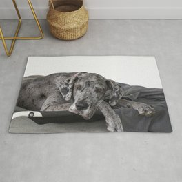 Great Dane waiting Rug