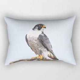 Majestic: Peregrine Falcon Rectangular Pillow
