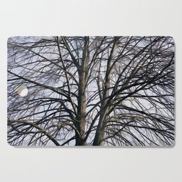 Stained Glass Tree Cutting Board