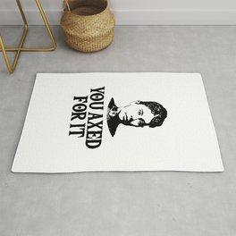 Lizzie Borden - Funny True Crime Rug