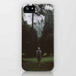 English summer rain iPhone Case