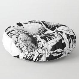 Tarot 0-5 Floor Pillow