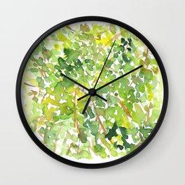 Stuck in a Tree Wall Clock