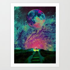 Cosmic Shore Art Print