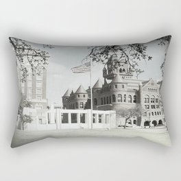 SPRING IN DEALEY PLAZA Rectangular Pillow