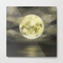 dear moon Metal Print