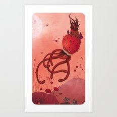red abyss Art Print
