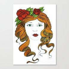 Valentine... Canvas Print