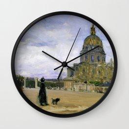 Henry Ossawa Tanner - Les Invalides, Paris - Digital Remastered Edition Wall Clock