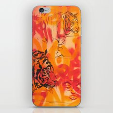 Double Tiger Medley iPhone Skin