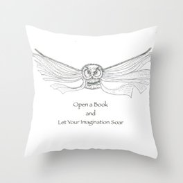 Read a Book Throw Pillow