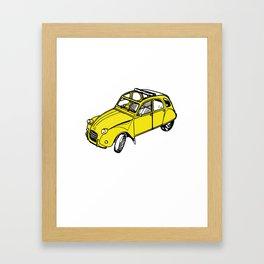 2CCCVV Framed Art Print