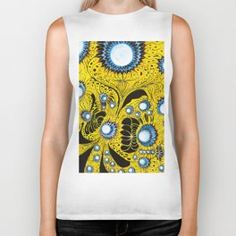 Indifinite Intersection of Emotion Biker Tank
