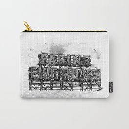 Farine Five Roses in B&W Carry-All Pouch