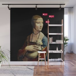 The Lady with an Ermine Influencer Wall Mural