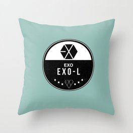 EXO-L Throw Pillow