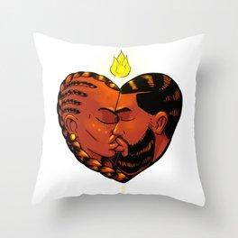 Legit love Throw Pillow