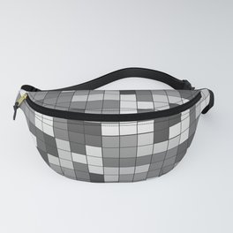 Tetris Camouflage Urban Fanny Pack