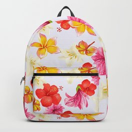 Florais coloridos br Backpack