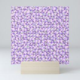 Seamless Geometry Sector Pattern 10 Mini Art Print
