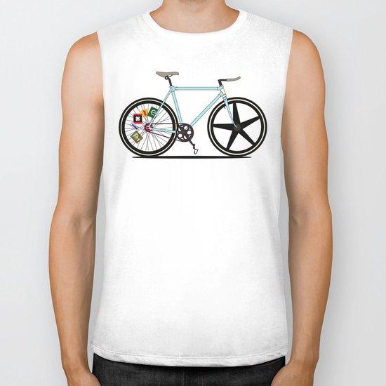 Fixie Bike Biker Tank