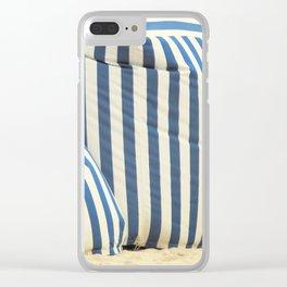In The Beach Clear iPhone Case