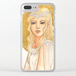 Elf Clear iPhone Case